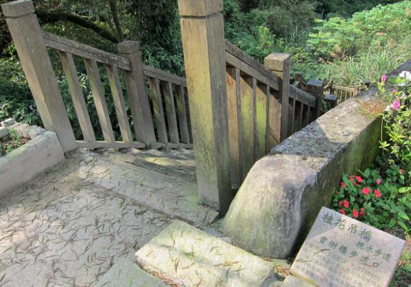 桂花步道及吊橋